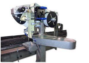 one-color label printer-applicator / carton / for labels / high-speed