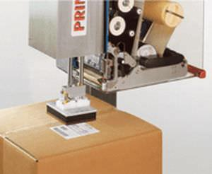 multi-color label printer-applicator / for labels / carton / automatic
