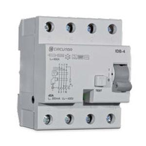 earth-leakage protection relay / DIN rail / AC/DC