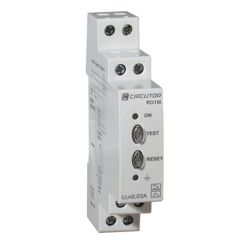 earth-leakage protection relay / DIN rail / adjustable / differential