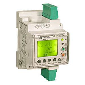 earth-leakage protection relay / frequency / programmable / digital