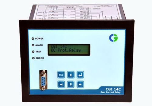 over-current protection relay / digital / programmable / panel-mount