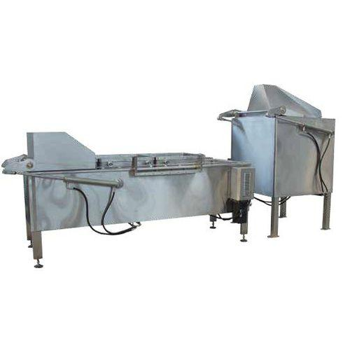 universal boiling pan / for the food industry / automatic