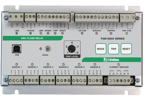arc flash protection relay / current / phase / DIN rail