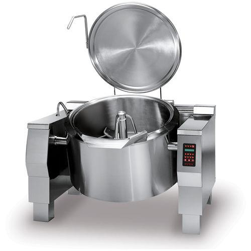 cooker with mixer