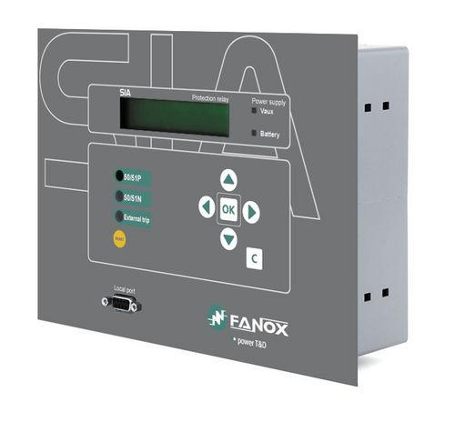 insulation protection relay / over-current / panel-mount / digital