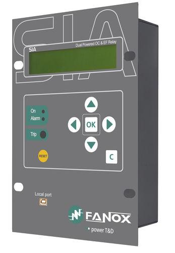 over-current protection relay / phase sequence / panel-mount / digital