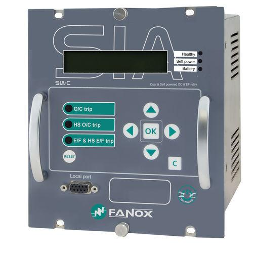 over-current protection relay / trip circuit / panel-mount