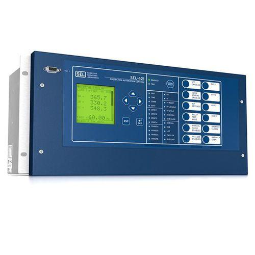 digital protection relay / programmable / configurable / for recloser control