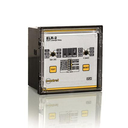 earth-leakage protection relay / panel-mount / differential
