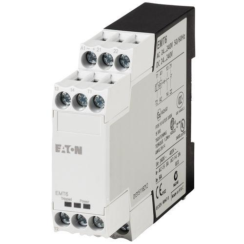 overload relay / temperature / 1NC / three-phase