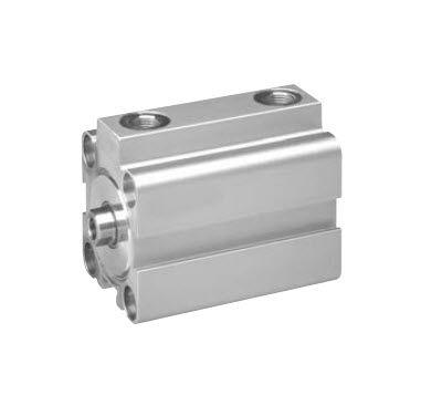 pneumatic cylinder / single-acting / short-travel / stainless steel