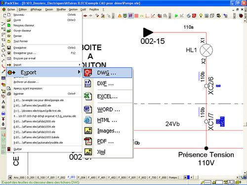 Algo Tech Electrical CAD Software / Engineering / Interface / Design