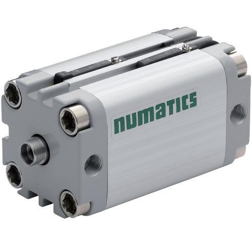 pneumatic cylinder / double-acting / single-acting / precision