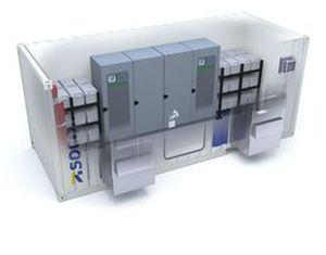 containerized uninterruptible power supply / for harsh environments / custom