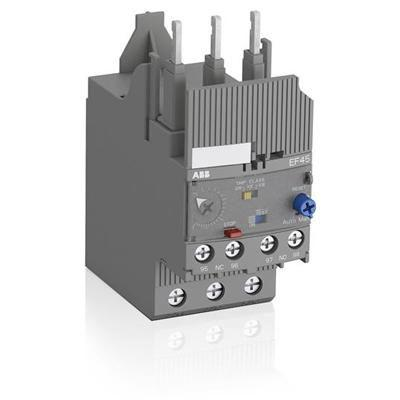 overload protection relay / for electric motors / adjustable / manual reset